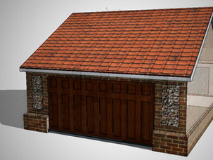 Garage Approved in Wereham Conservation Area.