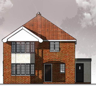 Approved House Extension in Attlebrough.