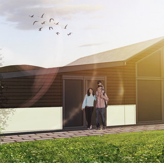 Conversion of barn to residential annex approved in Oswestry.