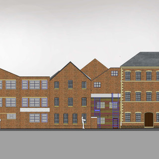 Planning Application for the Chnage of Use of the Aynsley Mill, ongton, Stoke on Trent.