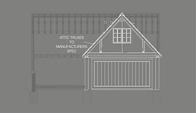 Building Regulations Detail apporved for barn extension and conversion in Wem, Shropshire.