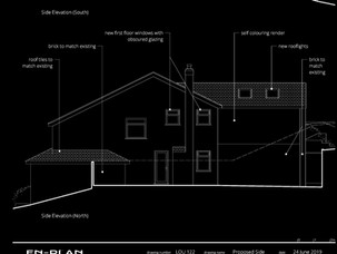 New bespoke extension applicaion submitted.