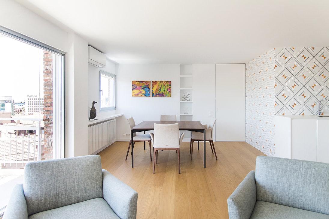 reforma apartamento granada comedor salo