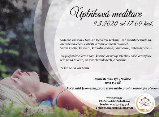 Úplňková meditace 9.3.2020 v 17:00