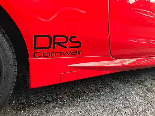 DRS Cornwall Medium Sticker