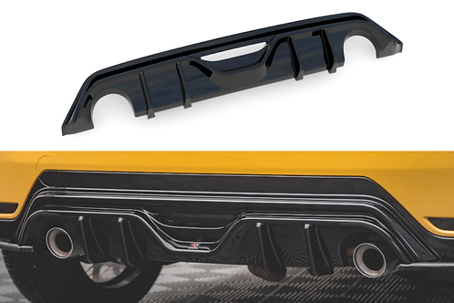 MAXTON GLOSS BLACK REAR VALANCE TOYOTA GR YARIS MK4 (2020-)