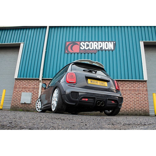 Scorpion Cooper S F56 Non-Resonated Cat-Back System Fit's John Cooper Works