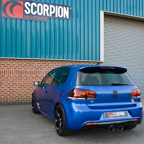 Scorpion Golf MK6 R Non-resonated cat-back system