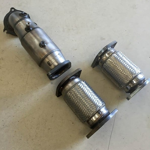 Mongoose Downpipe/Sports Cat - Fiesta ST180 EcoBoost