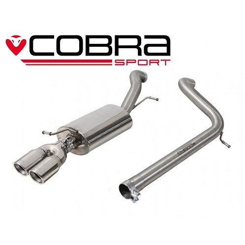 Cobra Audi A1 1.4 TFSI 150PS 2015> Cat Back Exhaust