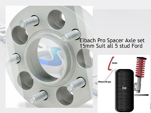 Focus ST250 Eibach Pro spacer kit +40mm Track