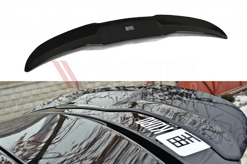 GLOSS BLACK SPOILER CAP SEAT LEON MK2 MS DESIGN