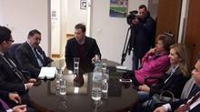 Συνάντηση με τον πρόεδρο του ΚΕΕΛΠΝΟ στα Ιωάννινα