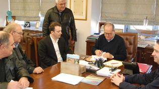 Συνάντηση με Δήμαρχο Καλαμάτας για Παραχώρηση χώρων για ΤΟΜΥ