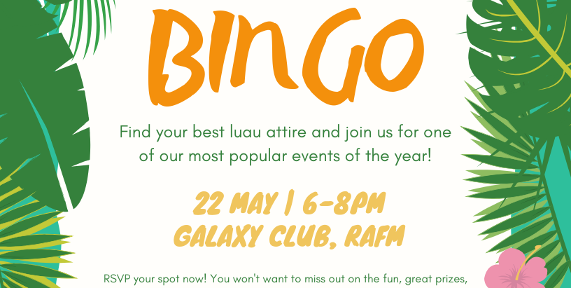 May: Luau Bingo