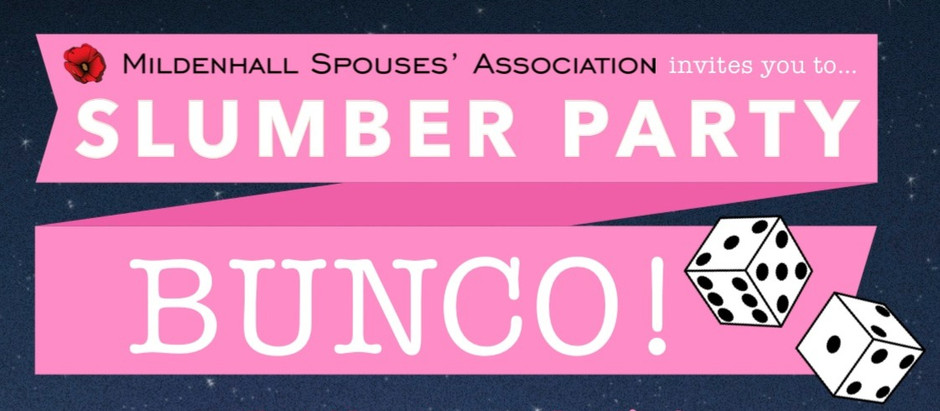 Slumber Party BUNCO!
