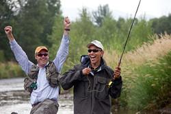 Obama's Big Fish Story