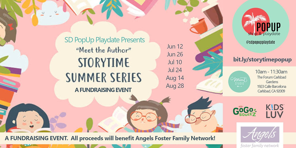Storytime Summer Series -- Author Event