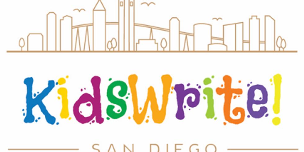 KidsWrite! Award Ceremony @ SDWF Summer Festival Days