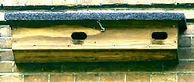 nestkast Gierzwaluw Vogelwerkgroep Noordwest-Achterhoek