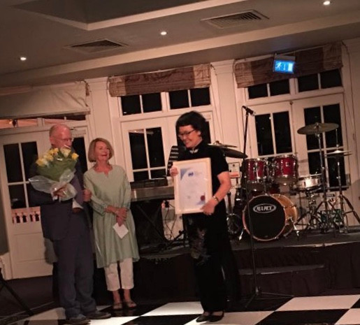 Ms Dan Jiang was awarded as the first Chinese Fellow of the British Acupuncture Council