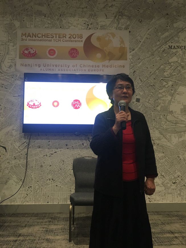 Ms Dan Jiang was presenting in the 3rd International Conference of TCM, Manchester