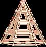 3Dピラミッド