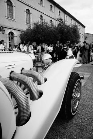 excalibur voiture des mariés