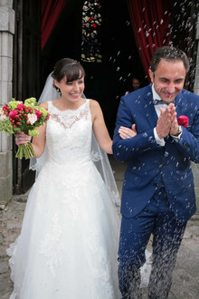 Un élégant mariage vintage dans les Hauts de Pardaillan, Eure et Loire
