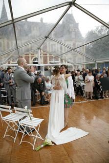 Un formidable mariage au Château de Belmesnils, Saint-Denis-le-Thiboult, Seine-Maritime