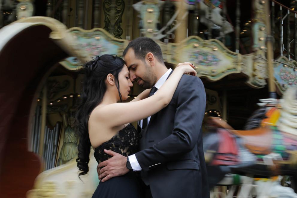 Séance photo de couple à Paris