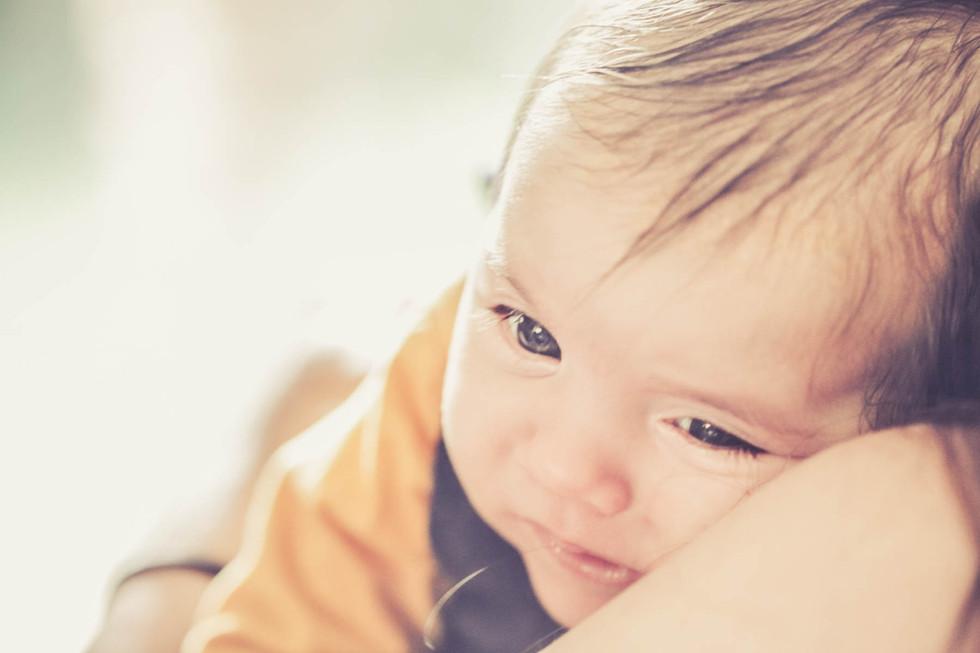 photo de bébé cocooning