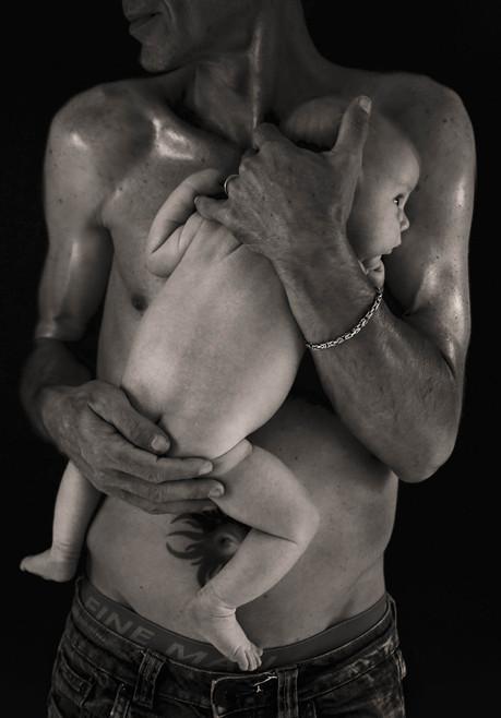 photo de bébé au studio