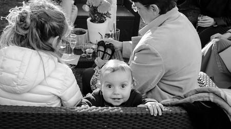 photo de bébé sur le vif