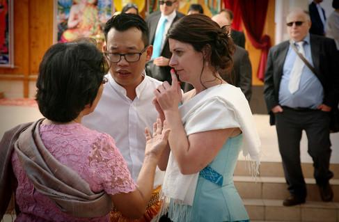 Un incroyable mariage bouddhiste aux maisons Maquets à Rozoy Bellevalle, puis à Neuilly-Plaisance, Seine-Saint-Denis