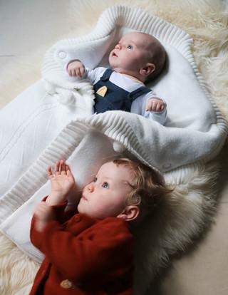 portrait d'enfant et de bébé à domicile