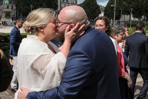 Un reportage photo d'un mariage très émouvant aux Granges de Bosc Grimont, Normandie