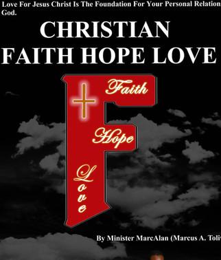 Christian Faith Hope Love Book