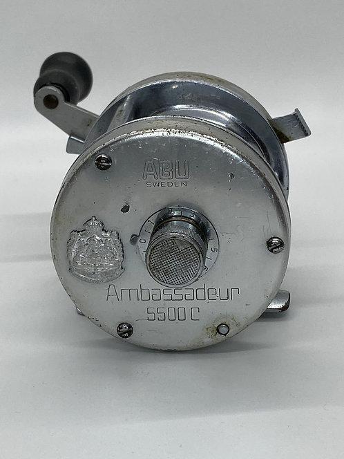Vintage Ambassadeur 5500C ABU Sweden Baitcast Reel