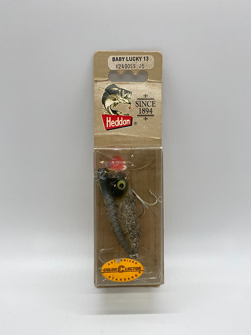New In Box! Vintage Heddon Baby Lucky 13 Lure