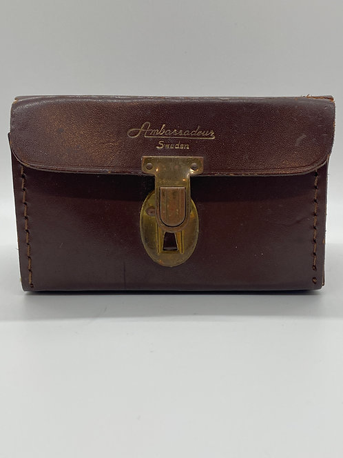 Vintage Leather Ambassadeur Case