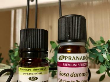 プラナロム社のローズ精油