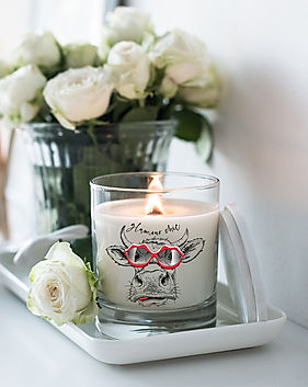 GLAMOUR CHIC COW CANDLE.jpg