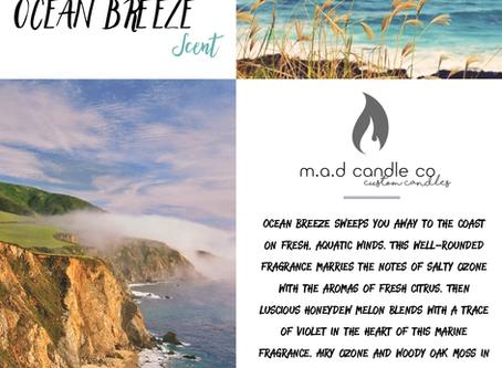 Scent of The Month - OCEAN BREEZE