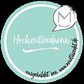 Siegel ausgebildet von martinredet Hochz
