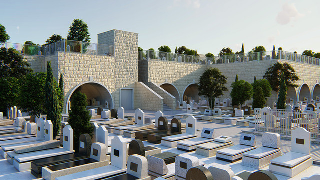 Cemetery in Israel