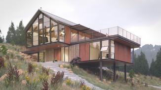 Sunshine Canyon House (Vray)