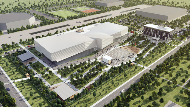Congress center Rostov-on-Don (AB Project)