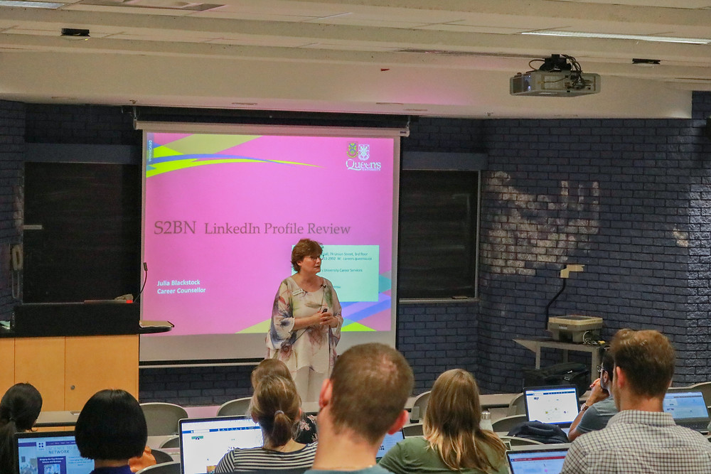 Julia Blackstock's LinkedIn Career event