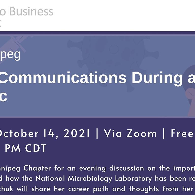 (WINNIPEG) Scientific Communication During a Pandemic